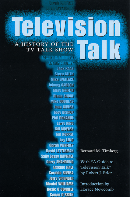 Cover of Television Talk
