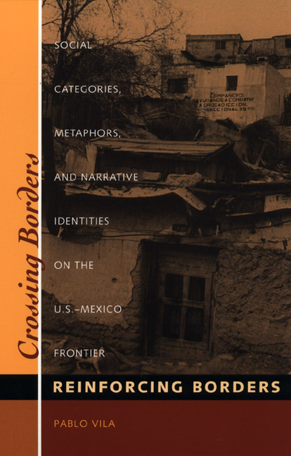 Cover of Crossing Borders, Reinforcing Borders
