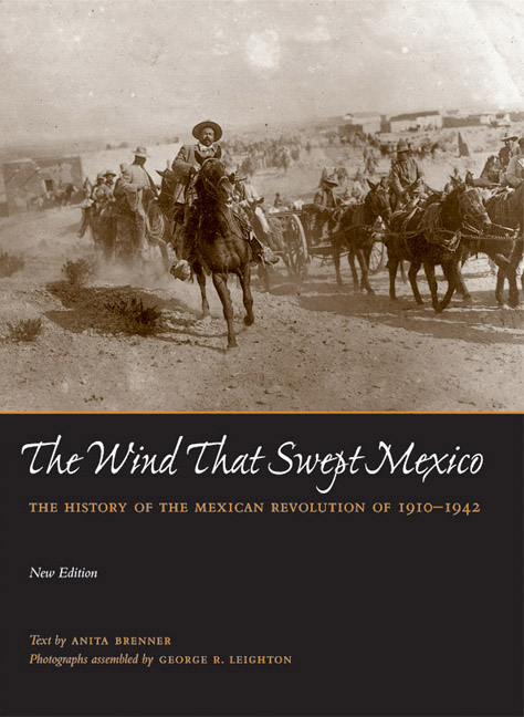 Cover of The Wind that Swept Mexico