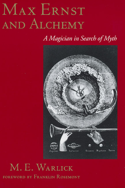 Cover of Max Ernst and Alchemy