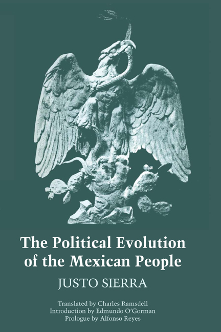 Cover of The Political Evolution of the Mexican People