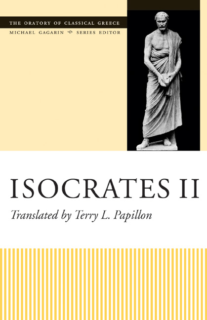 Cover of Isocrates II