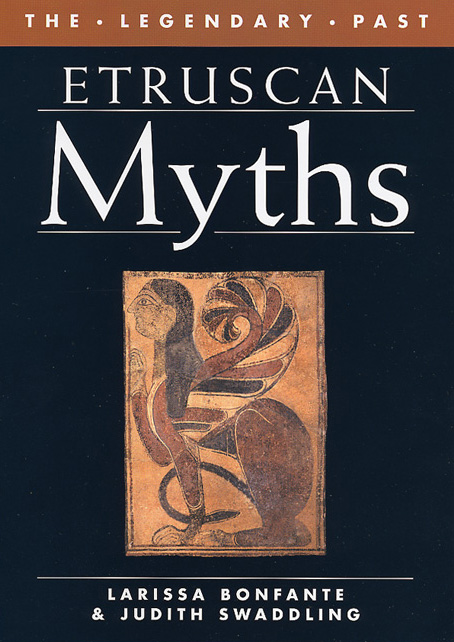 Cover of Etruscan Myths