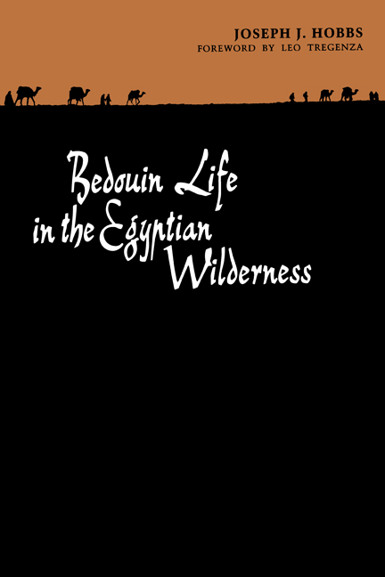 Cover of Bedouin Life in the Egyptian Wilderness