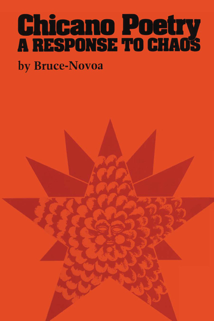 Cover of Chicano Poetry
