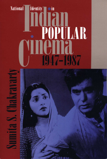 Cover of National Identity in Indian Popular Cinema, 1947-1987