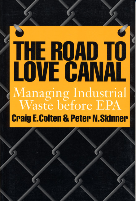 Cover of The Road to Love Canal