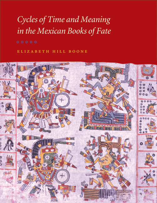 Cover of Cycles of Time and Meaning in the Mexican Books of Fate