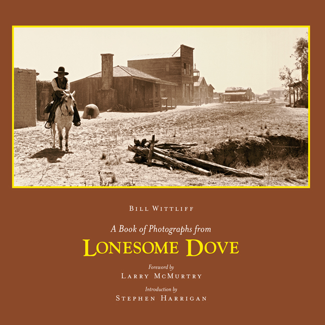 Cover of A Book of Photographs from Lonesome Dove