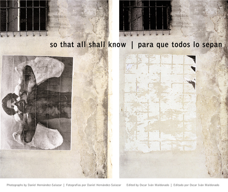 Cover of So That All Shall Know/Para que todos lo sepan