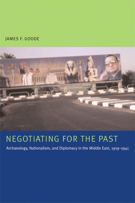 Cover of Negotiating for the Past