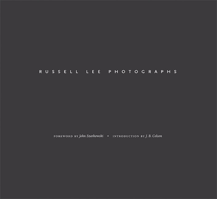 Cover of Russell Lee Photographs