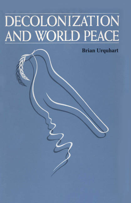 Cover of Decolonization and World Peace