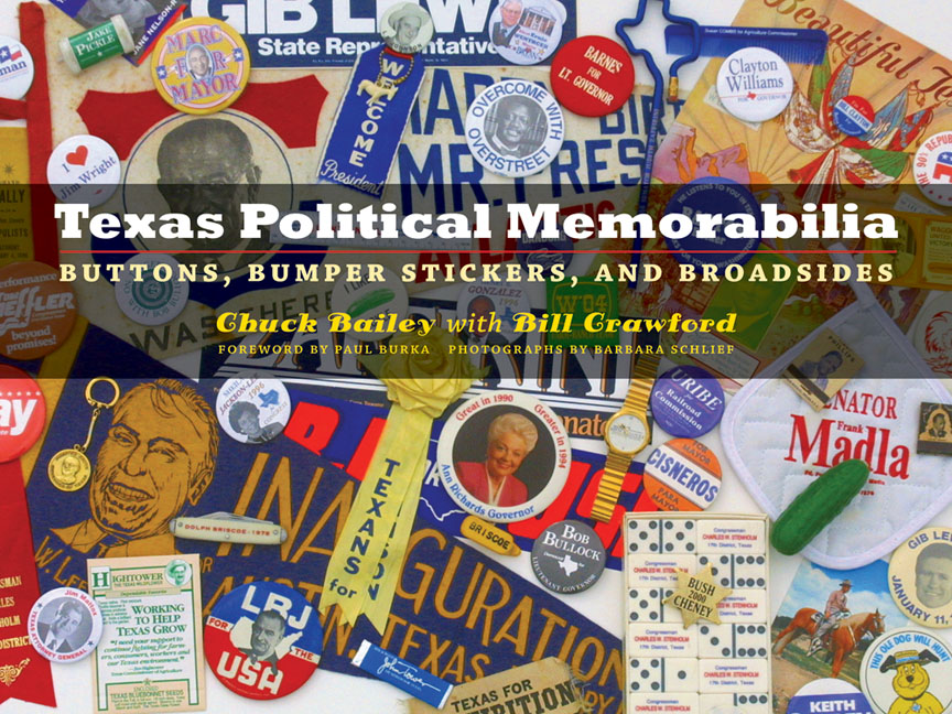 Cover of Texas Political Memorabilia