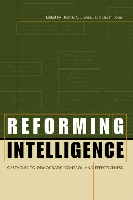 Cover of Reforming Intelligence