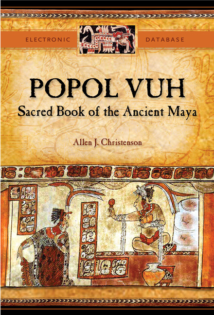 Cover of Popol Vuh CD-ROM