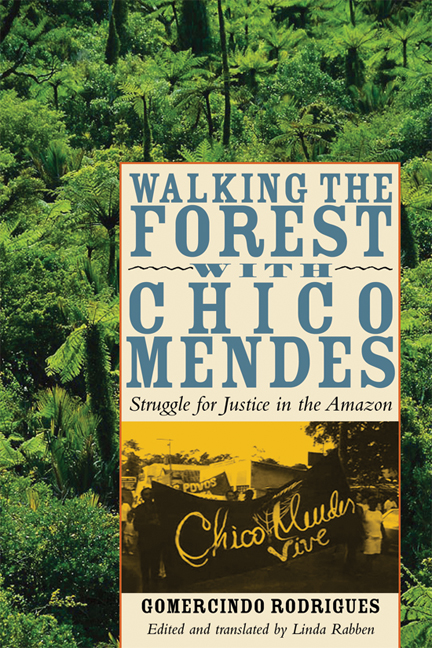 Cover of Walking the Forest with Chico Mendes
