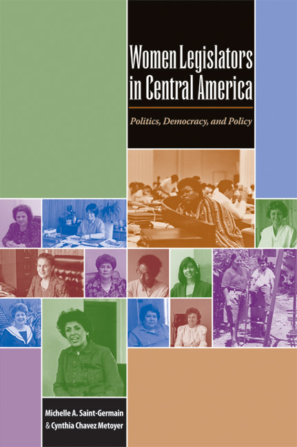 Cover of Women Legislators in Central America