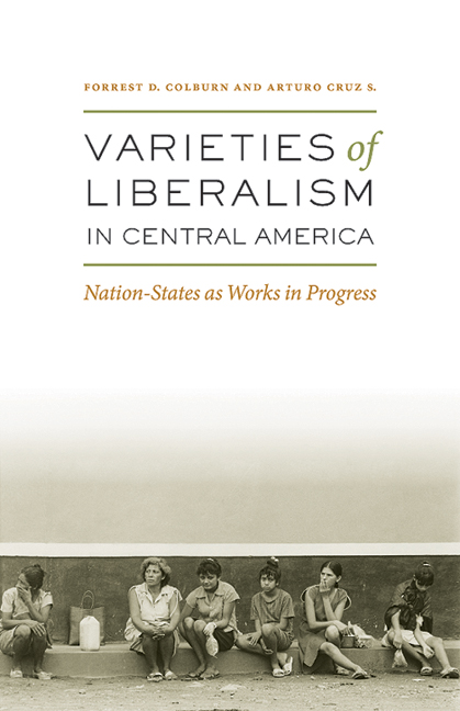 Cover of Varieties of Liberalism in Central America