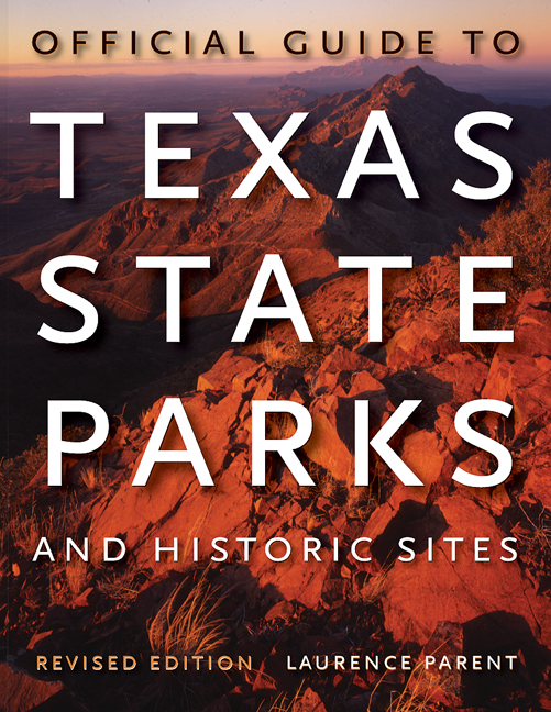 Cover of Official Guide to Texas State Parks and Historic Sites