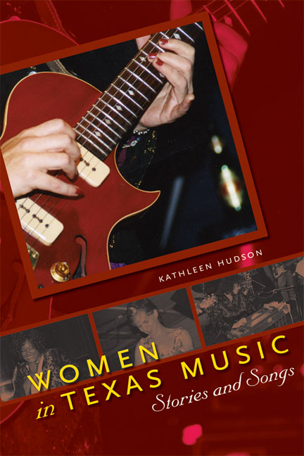 Cover of Women in Texas Music