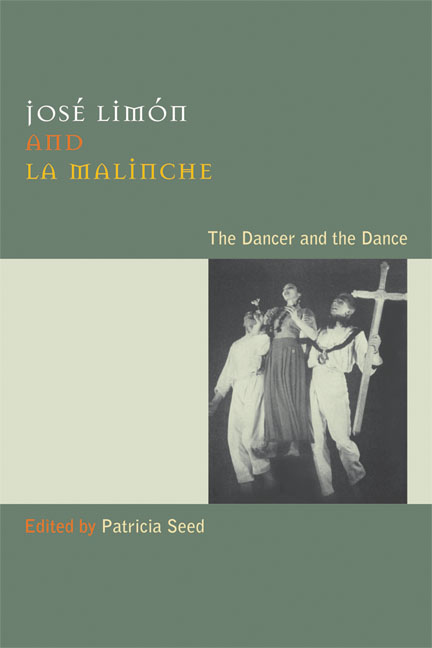 Cover of José Limón and La Malinche
