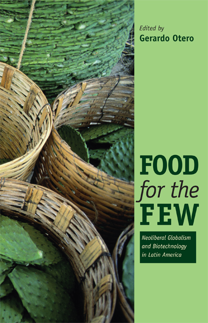 Cover of Food for the Few