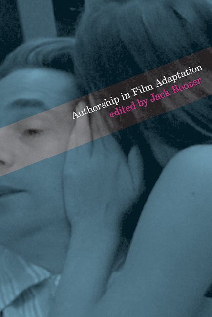 Cover of Authorship in Film Adaptation