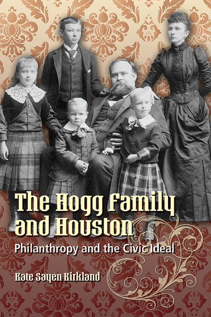 Cover of The Hogg Family and Houston