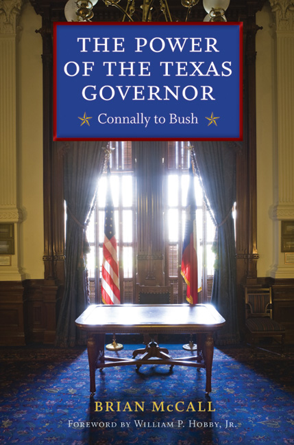 Cover of The Power of the Texas Governor