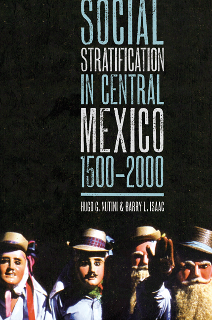 Cover of Social Stratification in Central Mexico, 1500-2000