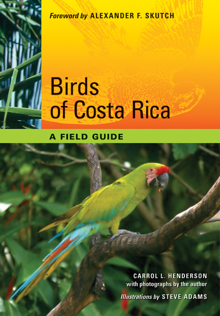 Cover of Birds of Costa Rica