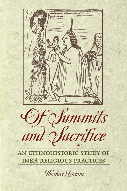 Cover of Of Summits and Sacrifice