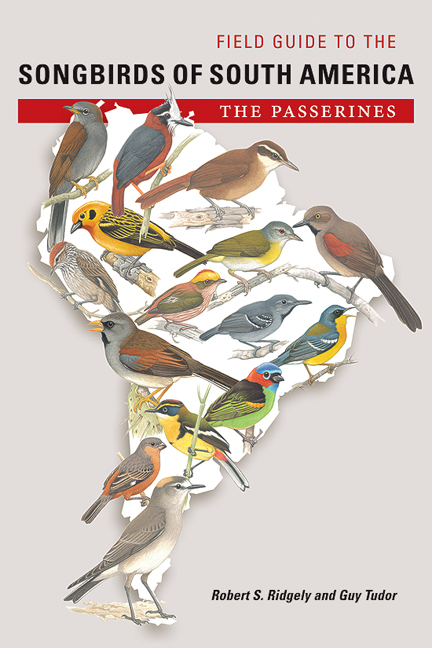 Cover of Field Guide to the Songbirds of South America