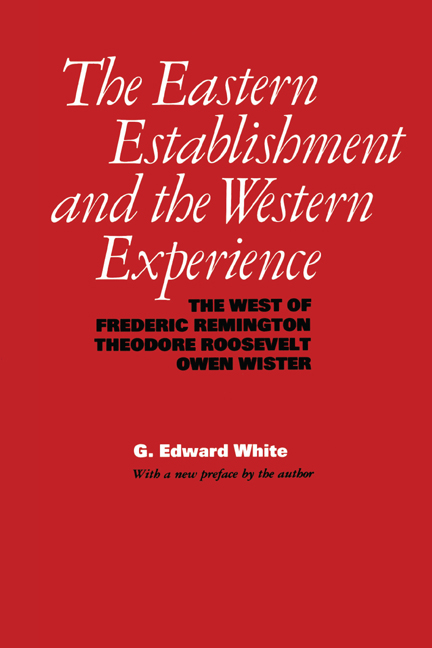 Cover of The Eastern Establishment and the Western Experience