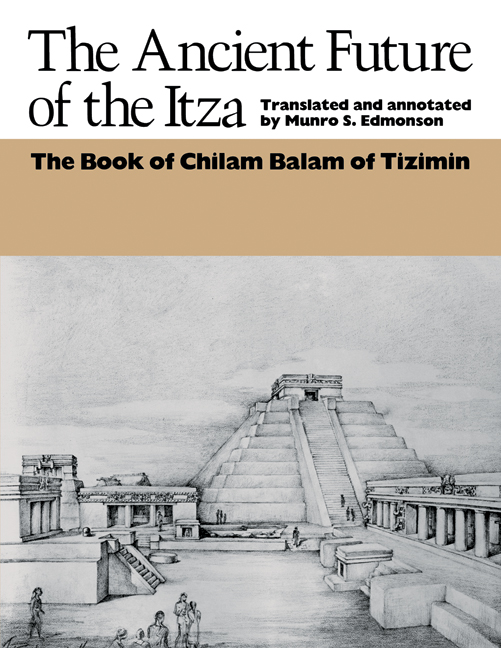 Cover of The Ancient Future of the Itza