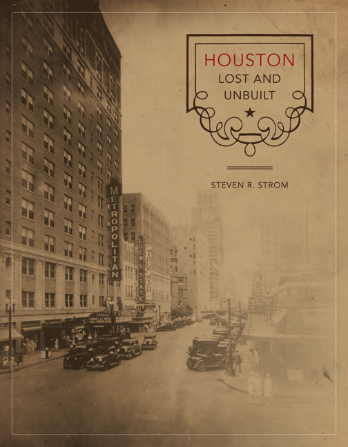 Cover of Houston Lost and Unbuilt