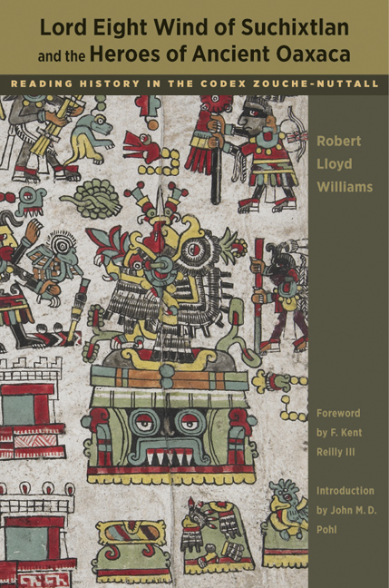 Cover of Lord Eight Wind of Suchixtlan and the Heroes of Ancient Oaxaca