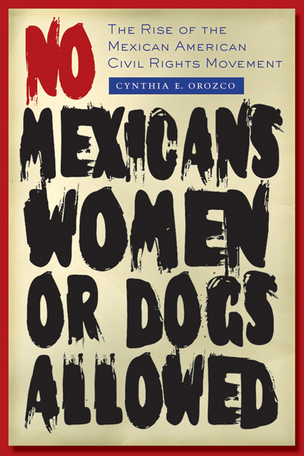 Cover of No Mexicans, Women, or Dogs Allowed