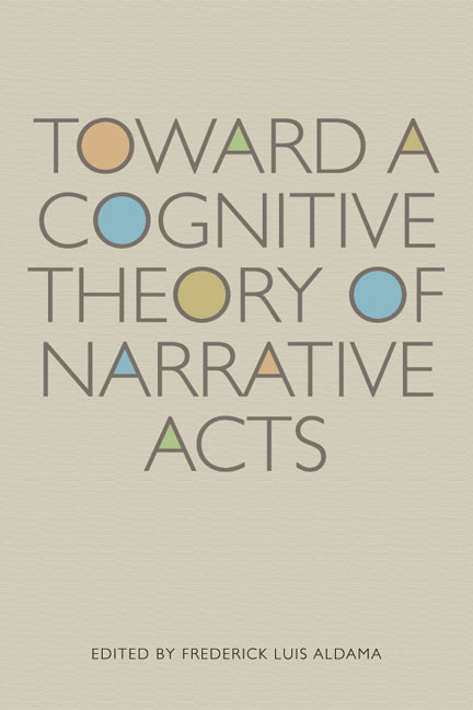 Cover of Toward a Cognitive Theory of Narrative Acts