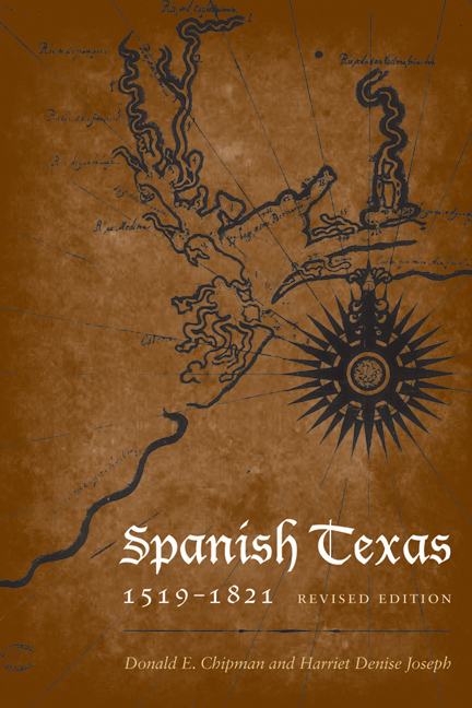 Cover of Spanish Texas, 1519–1821