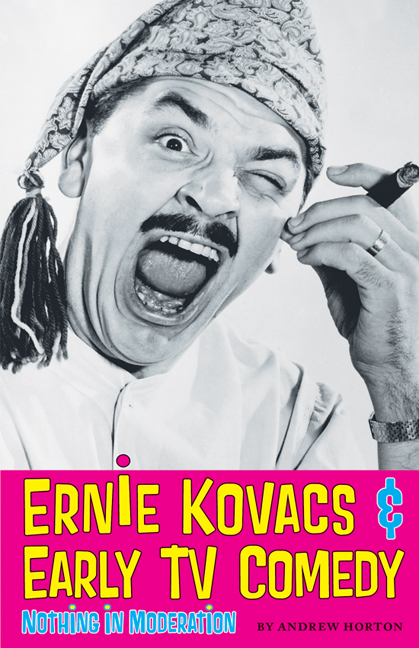 Cover of Ernie Kovacs & Early TV Comedy
