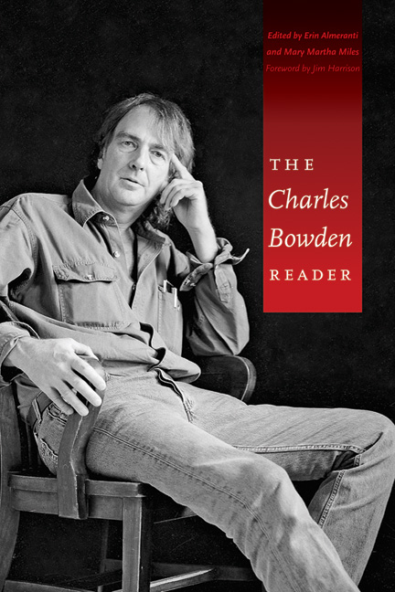 Cover of The Charles Bowden Reader