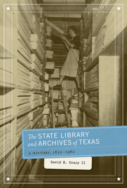 Cover of The State Library and Archives of Texas