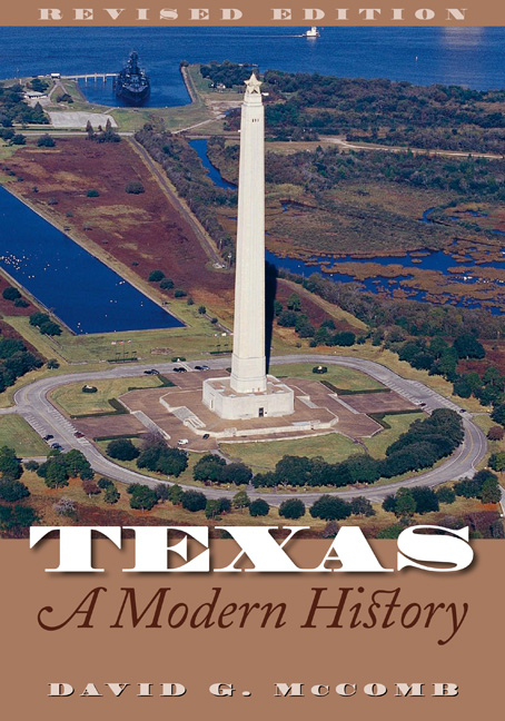 Cover of Texas, A Modern History