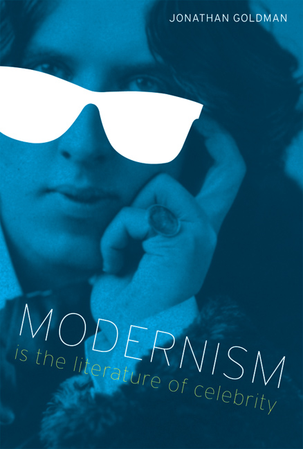 Cover of Modernism Is the Literature of Celebrity