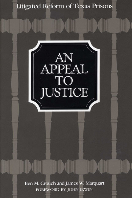 Cover of An Appeal to Justice
