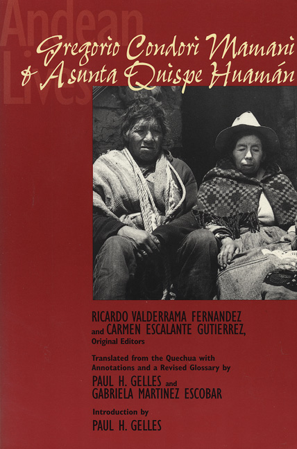 Cover of Andean Lives