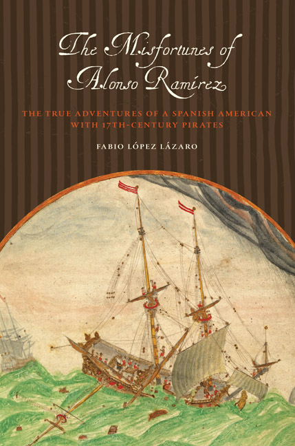 Cover of The Misfortunes of Alonso Ramírez