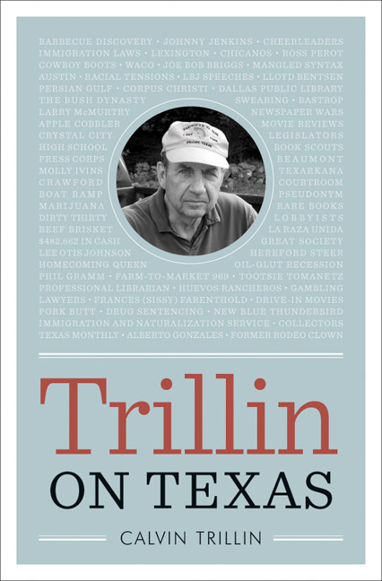 Cover of Trillin on Texas